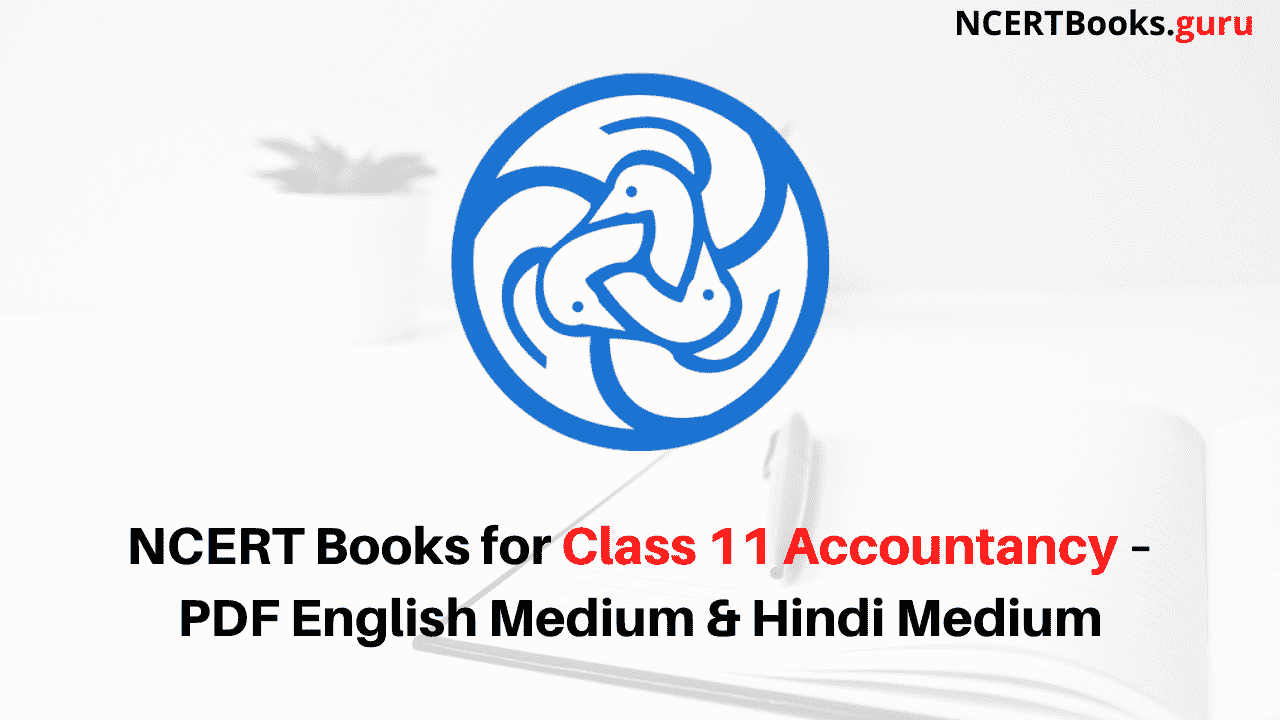 NCERT Books for Class 11 Accountancy PDF Download