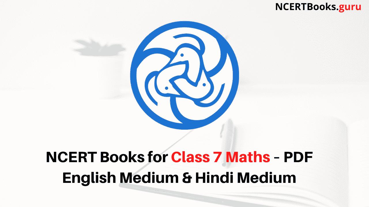 NCERT Books for Class 7 Maths PDF Download