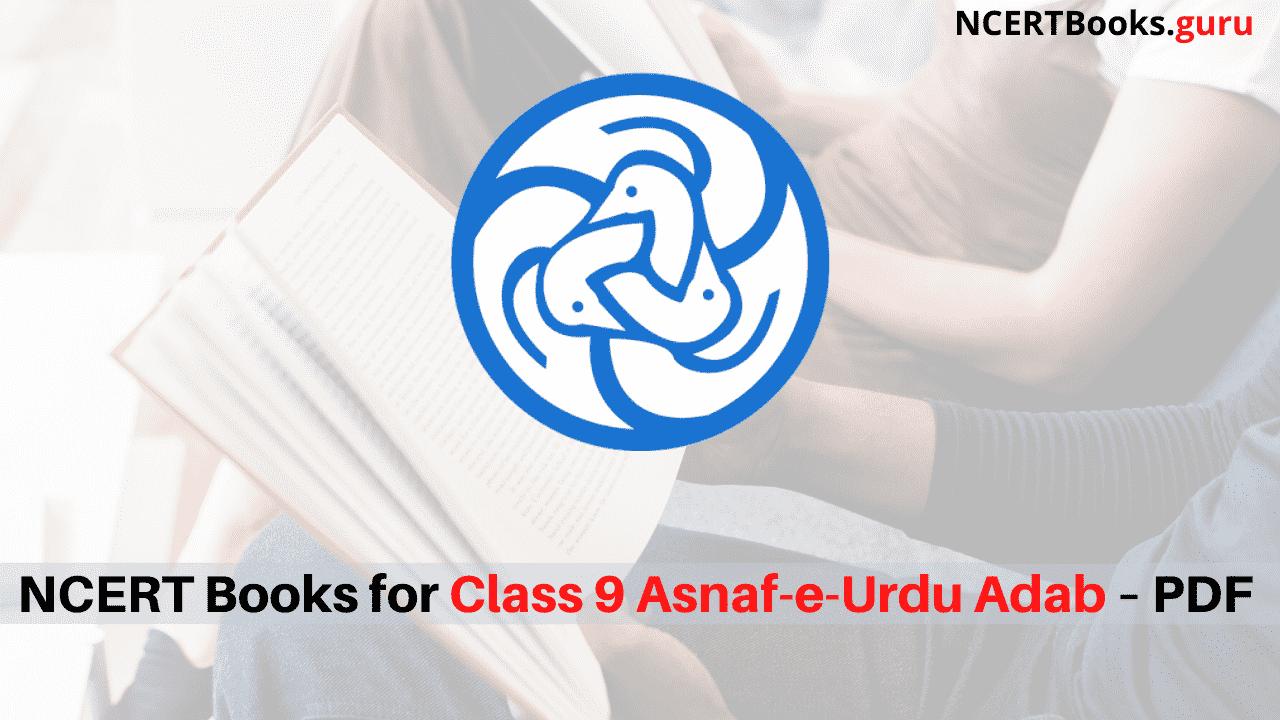 NCERT Books for Class 9 Asnaf-e-Urdu Adab PDF Download