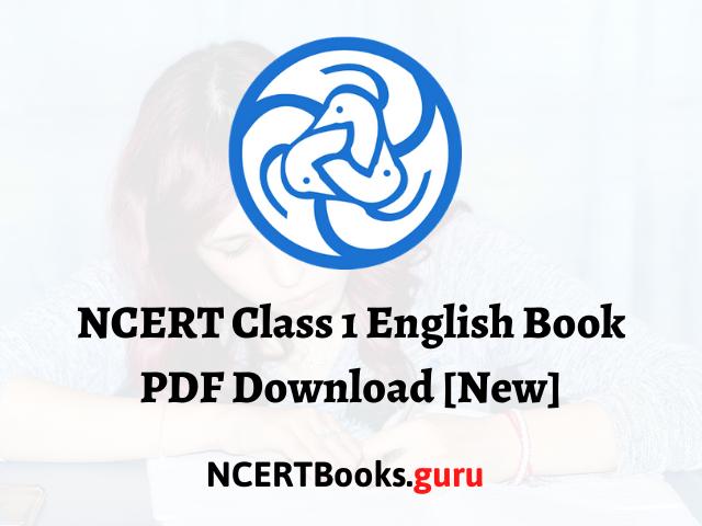 NCERT Class 1 English Book