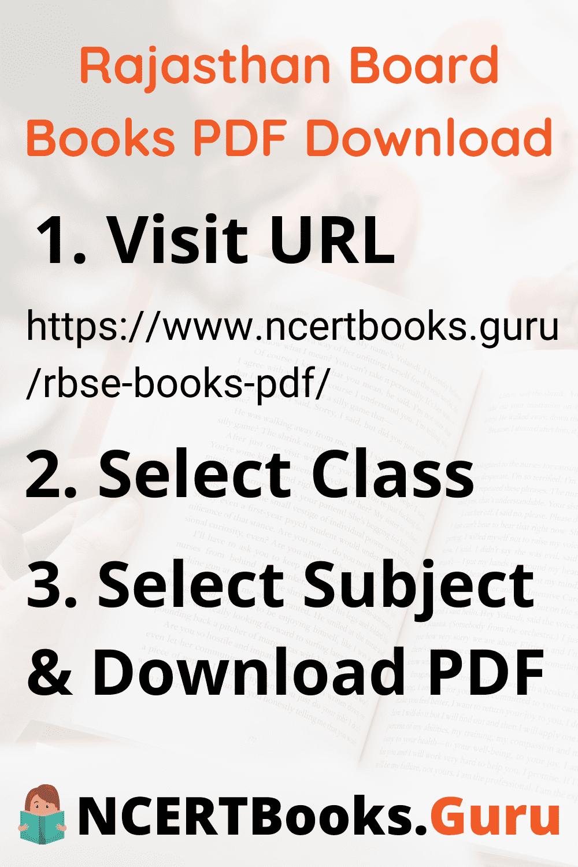 Rajasthan Board Books PDF Download