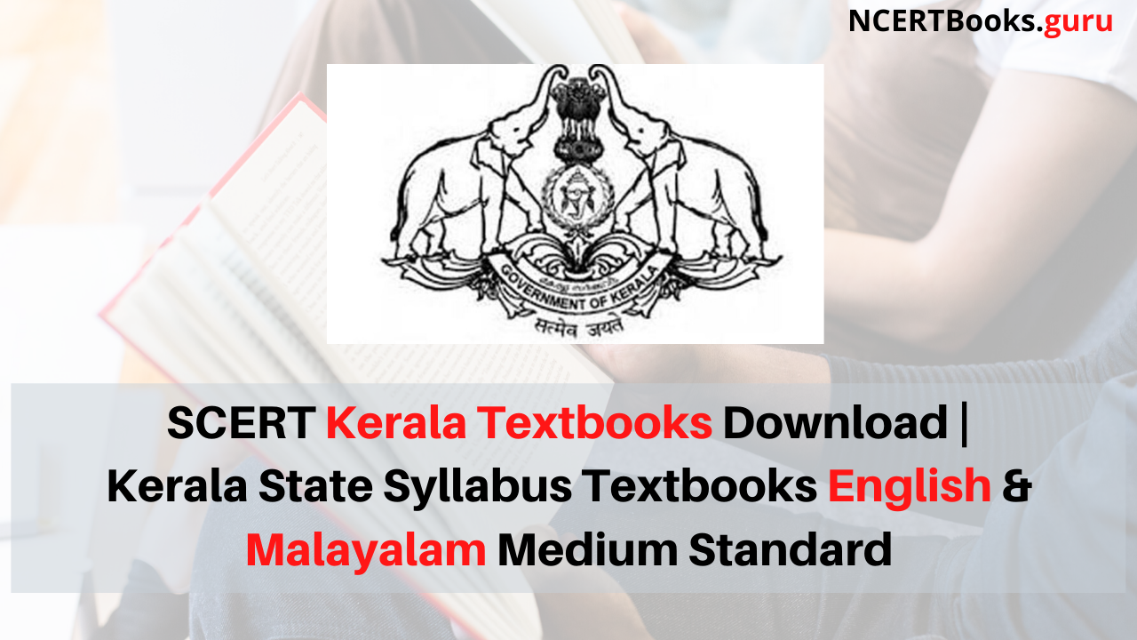 SCERT Kerala Textbooks