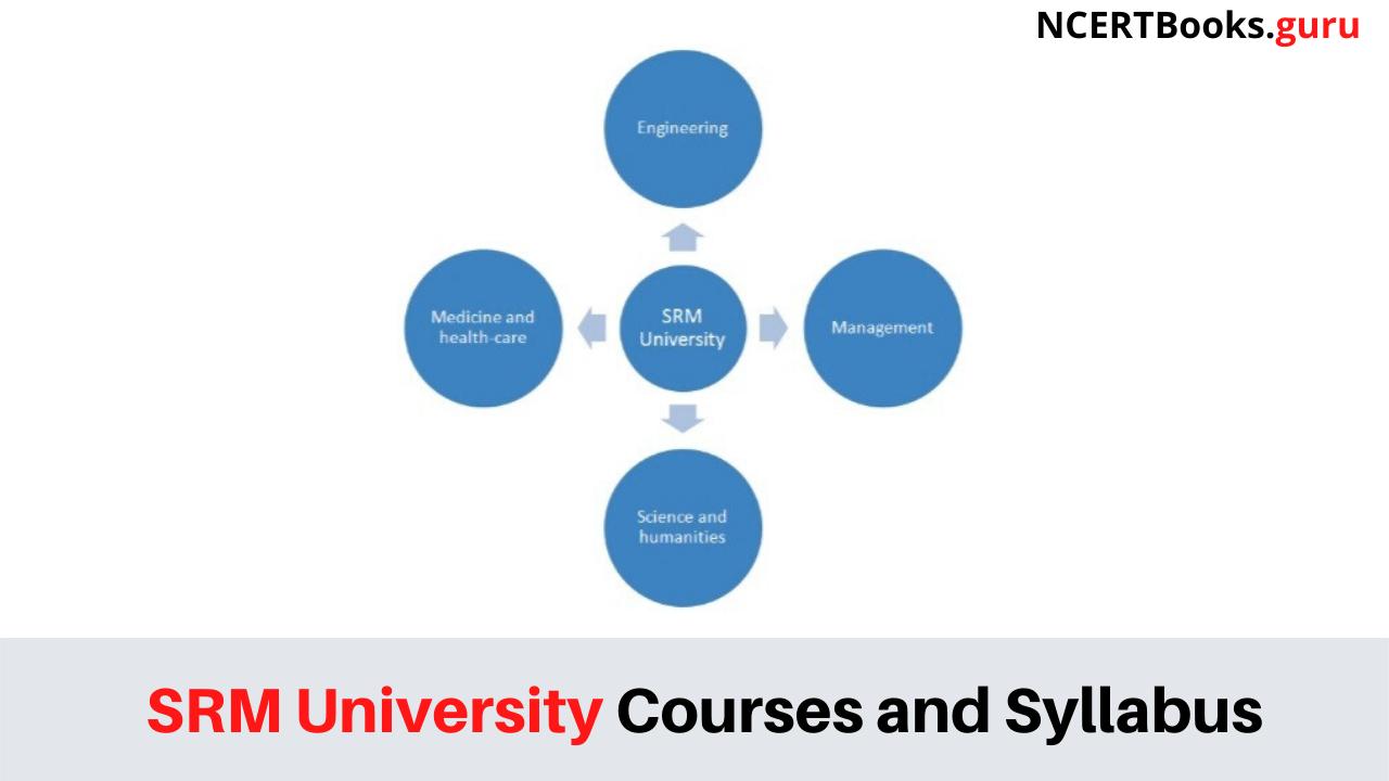 SRM University Courses and Syllabus