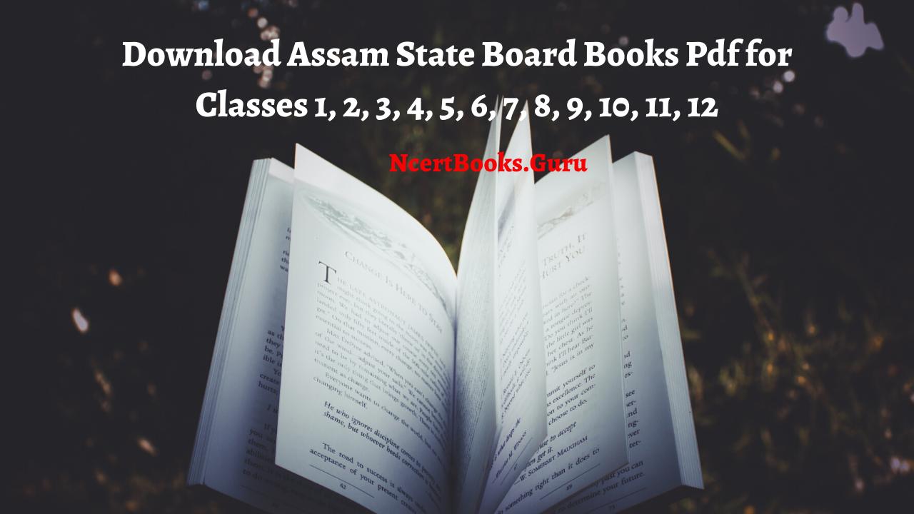 Assam State Board Books