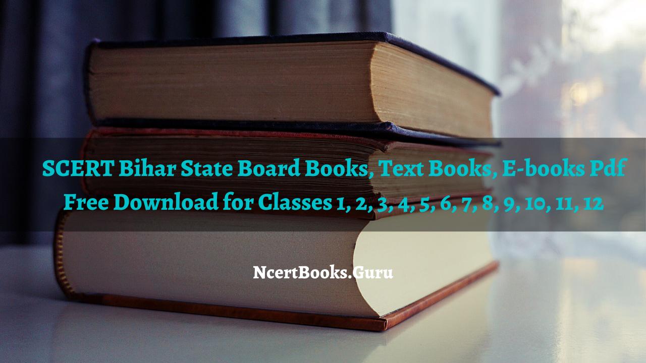 Bihar State Board Books