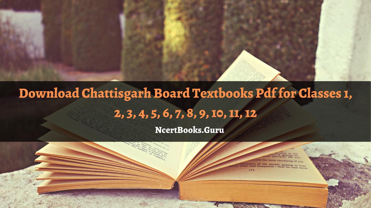 Chattisgarh Board Textbooks