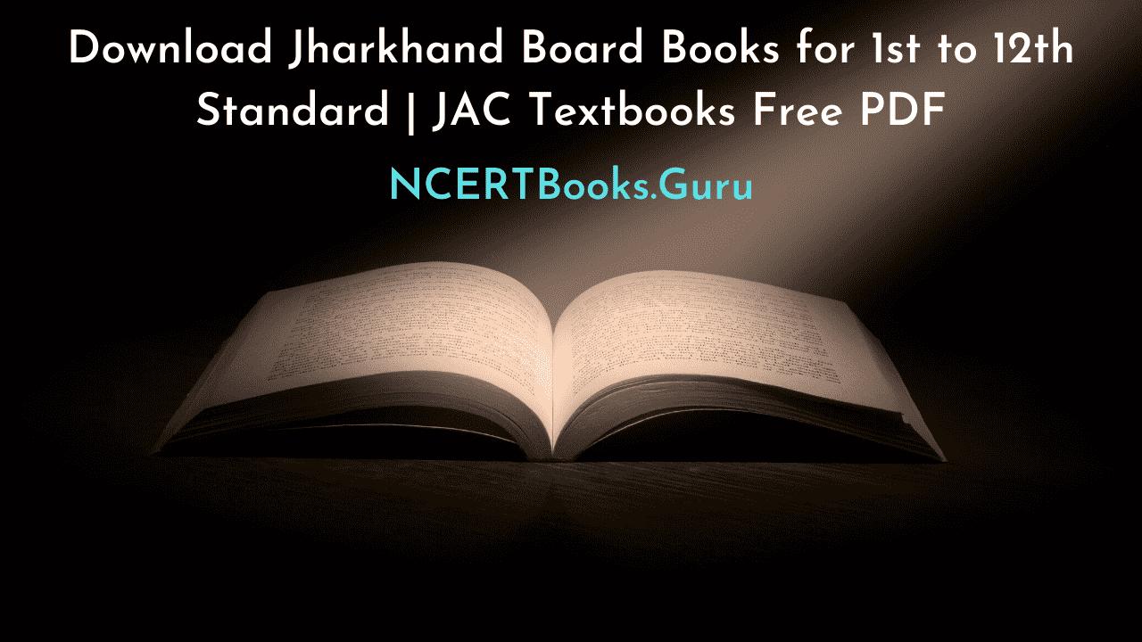 Jharkhand Board Books