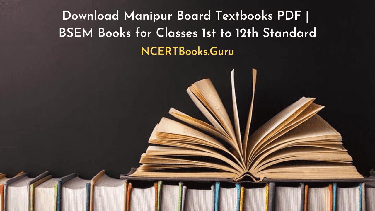 Manipur Board Textbooks