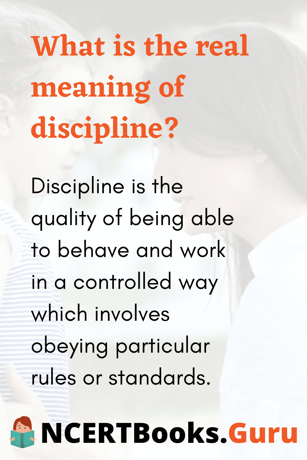 Meaning of Discipline