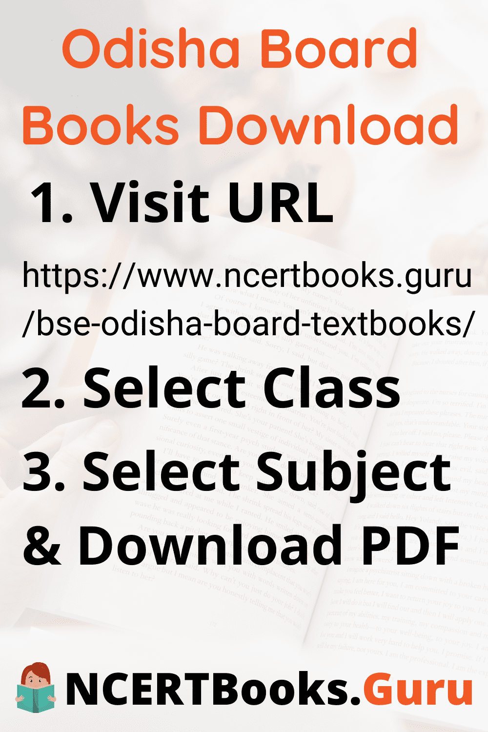 Odisha Board Books Download