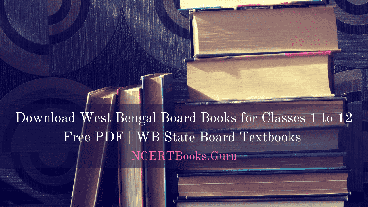 West Bengal Board Books