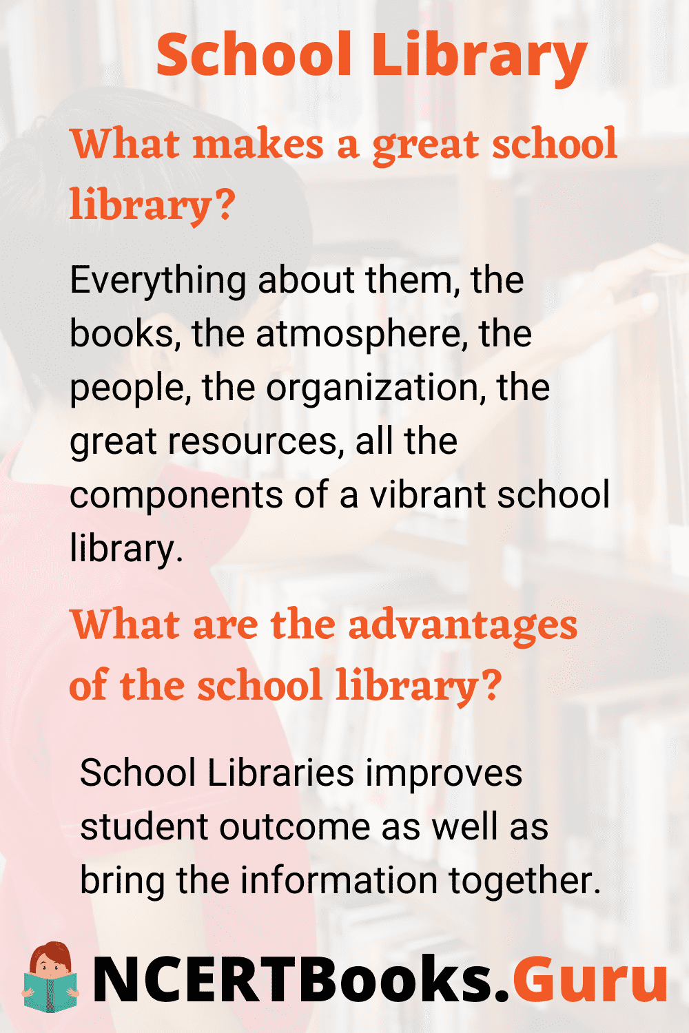 What makes a great school library