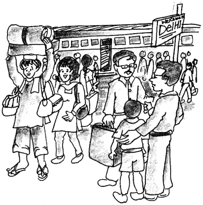 Essay on A Visit To A Railway Station