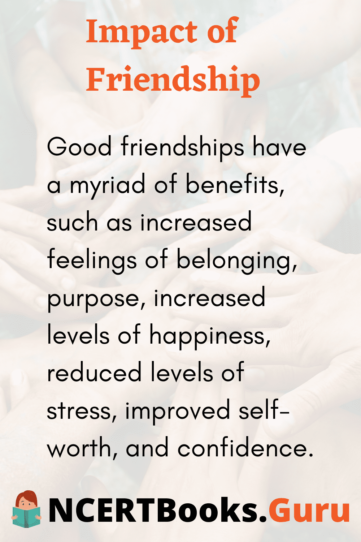 Impact of Friendship