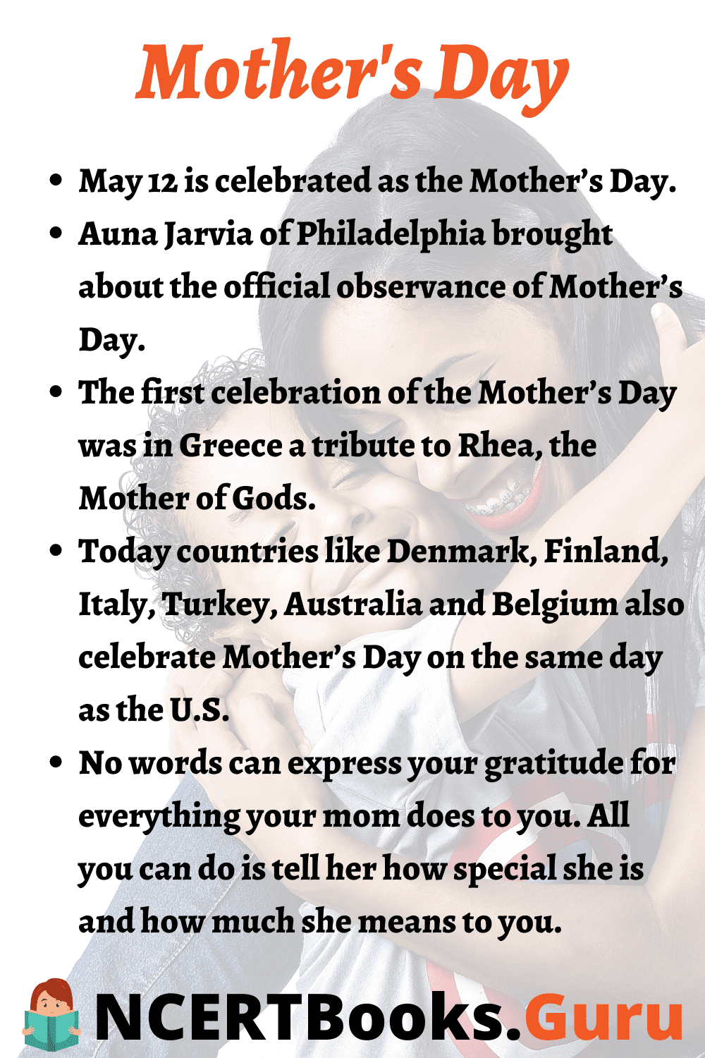 Importance of Mothers Day