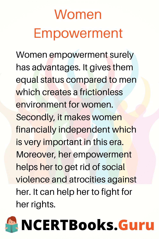 essay of women empowerment in india