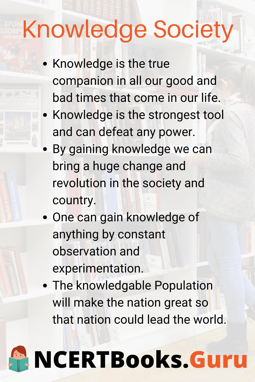 Knowledge Society Essay