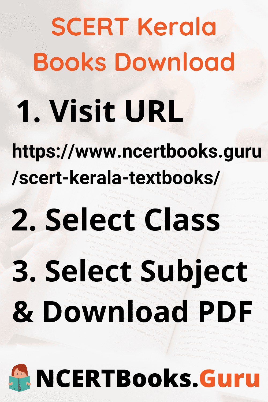 SCERT Kerala Books Download