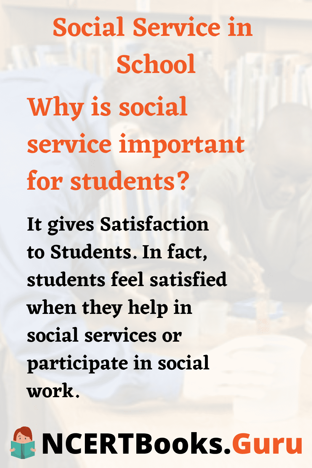 Why is Social Service Important for Students