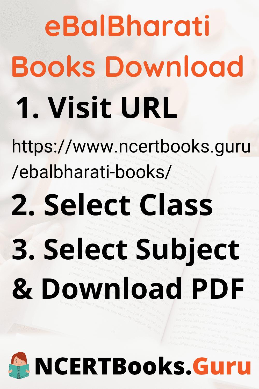 eBalBharati Books Download