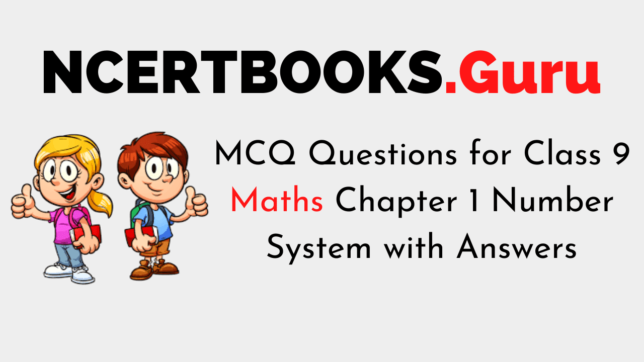 MCQ Questions for Class 9 Maths Chapter 1 Number System with Answers