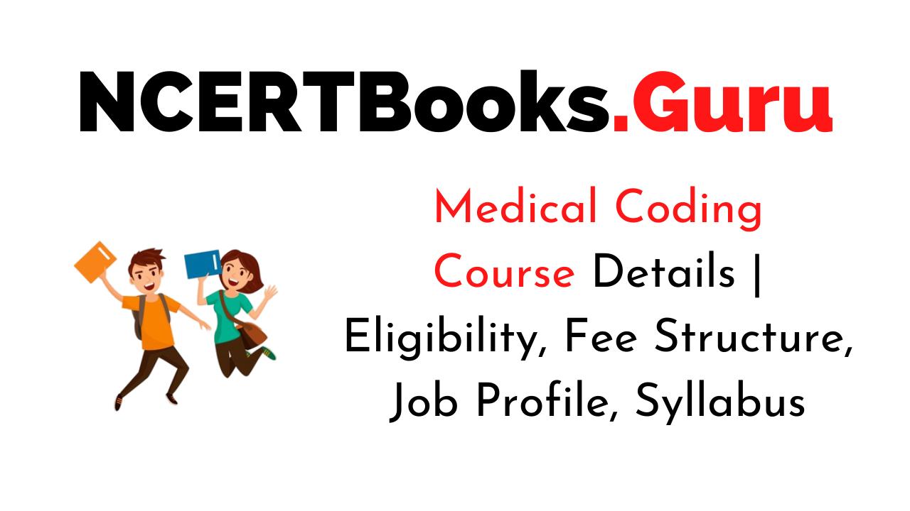 Medical Coding Course Details