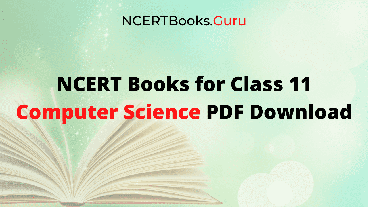 NCERT Books for Class 11 Computer Science PDF Download