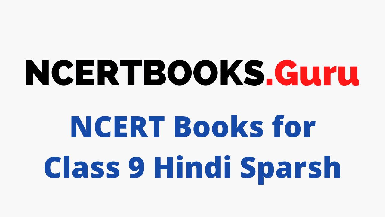 NCERT Books for Class 9 Hindi Sparsh