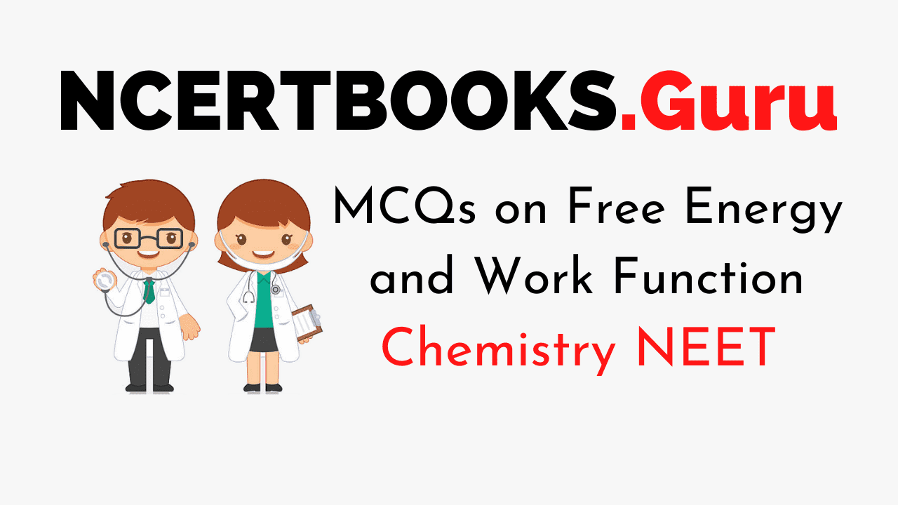 MCQs on Free Energy and Work Function for NEET