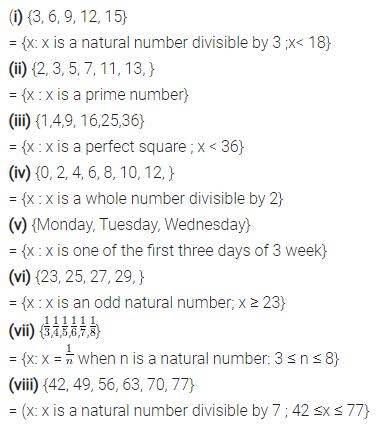 Selina Concise Mathematics Class 7 ICSE Solutions Chapter 13 Set Concepts Ex 13A 5