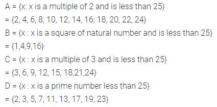 Selina Concise Mathematics Class 7 ICSE Solutions Chapter 13 Set Concepts Ex 13A 6
