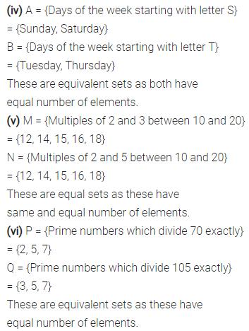 Selina Concise Mathematics Class 7 ICSE Solutions Chapter 13 Set Concepts Ex 13B 11