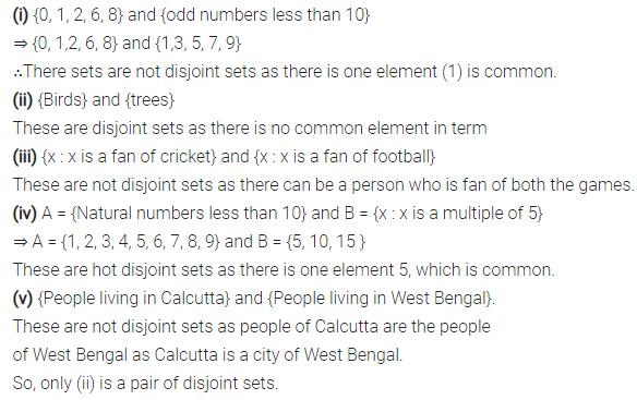 Selina Concise Mathematics Class 7 ICSE Solutions Chapter 13 Set Concepts Ex 13B 9