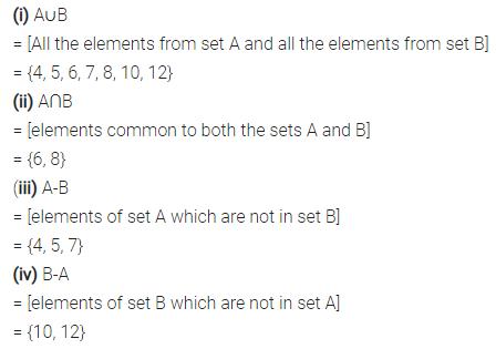 Selina Concise Mathematics Class 7 ICSE Solutions Chapter 13 Set Concepts Ex 13D 23