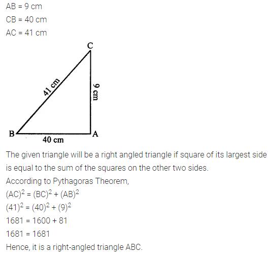 Selina Concise Mathematics Class 7 ICSE Solutions Chapter 16 Pythagoras Theorem 10
