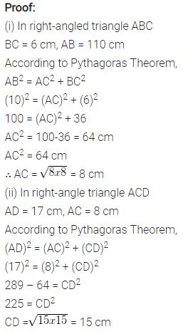 Selina Concise Mathematics Class 7 ICSE Solutions Chapter 16 Pythagoras Theorem 12