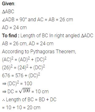 Selina Concise Mathematics Class 7 ICSE Solutions Chapter 16 Pythagoras Theorem 13