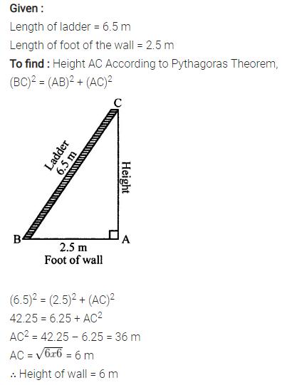 Selina Concise Mathematics Class 7 ICSE Solutions Chapter 16 Pythagoras Theorem 16