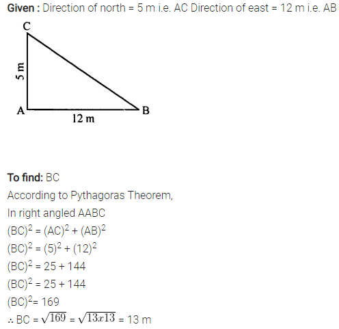 Selina Concise Mathematics Class 7 ICSE Solutions Chapter 16 Pythagoras Theorem 17