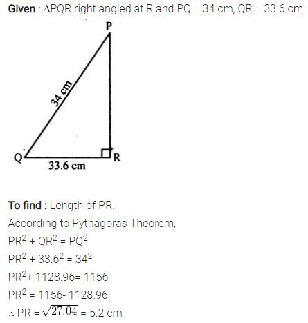 Selina Concise Mathematics Class 7 ICSE Solutions Chapter 16 Pythagoras Theorem 3