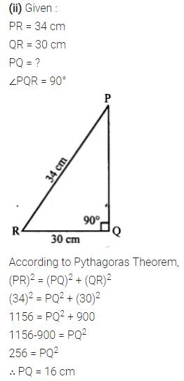 Selina Concise Mathematics Class 7 ICSE Solutions Chapter 16 Pythagoras Theorem 9