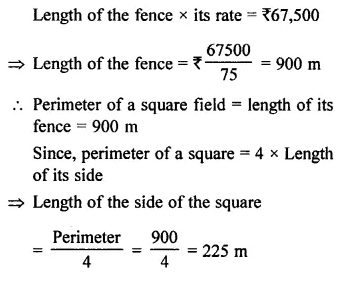 Selina Concise Mathematics Class 7 ICSE Solutions Chapter 20 Mensuration Ex 20A 11