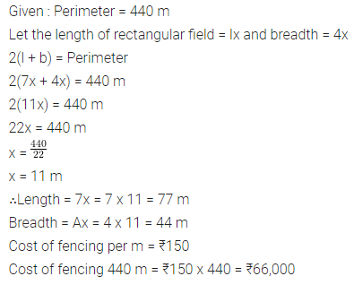 Selina Concise Mathematics Class 7 ICSE Solutions Chapter 20 Mensuration Ex 20A 2