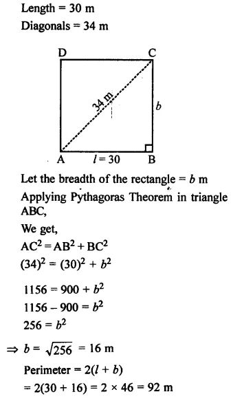 Selina Concise Mathematics Class 7 ICSE Solutions Chapter 20 Mensuration Ex 20A 3