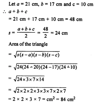 Selina Concise Mathematics Class 7 ICSE Solutions Chapter 20 Mensuration Ex 20B 49