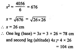 Selina Concise Mathematics Class 7 ICSE Solutions Chapter 20 Mensuration Ex 20B 54