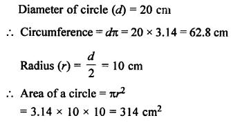 Selina Concise Mathematics Class 7 ICSE Solutions Chapter 20 Mensuration Ex 20B 57