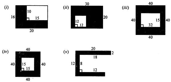 Selina Concise Mathematics Class 7 ICSE Solutions Chapter 20 Mensuration Ex 20B Q8