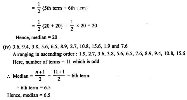 Selina Concise Mathematics Class 7 ICSE Solutions Chapter 21 Data Handling Ex 21B 29