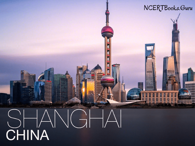 shanghai city china's most populated city in world